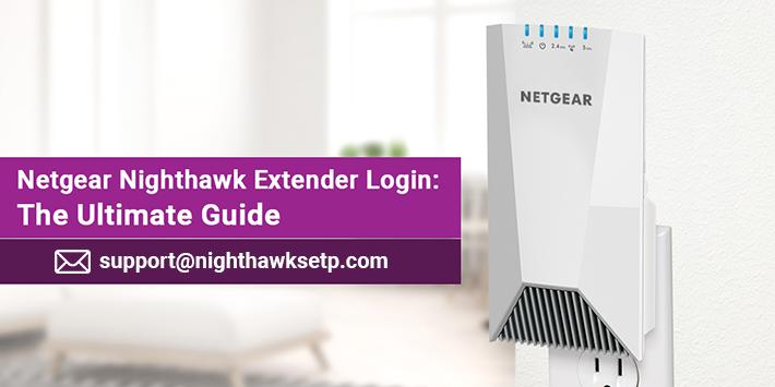 Netgear Nighthawk Extender Login