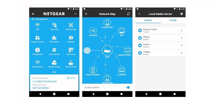 Netgear router app